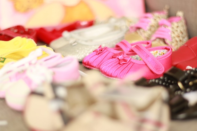 holčičí botičky