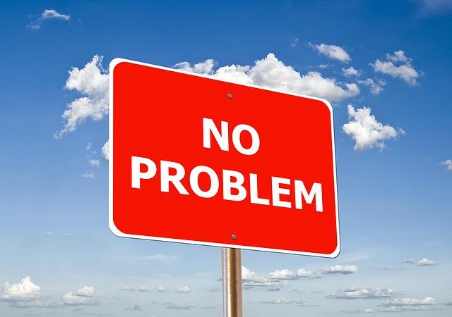značka No problem