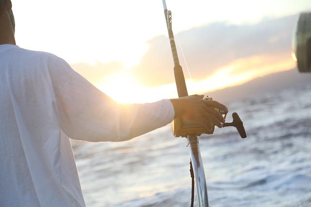 rybolov na otevřeném moři