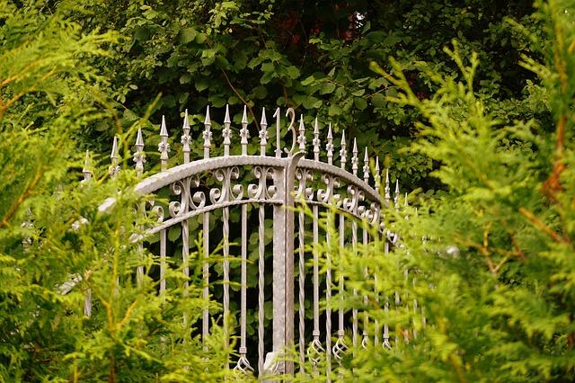 železná brána