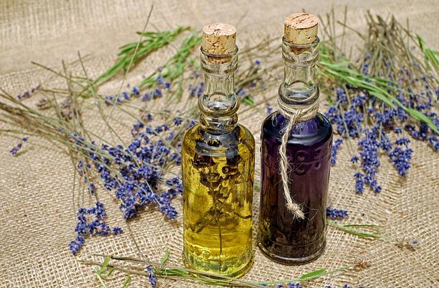 přírodní olejíčky