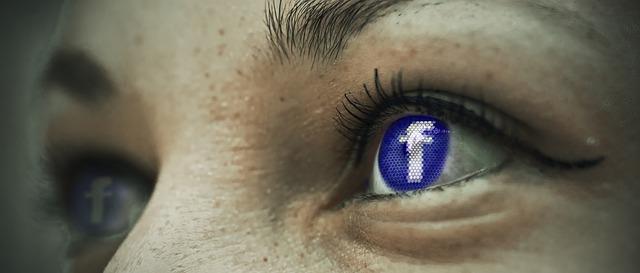 facebook v očích