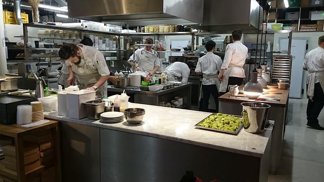 profesionální kuchyň