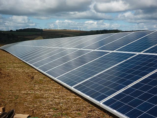 solární panel fve