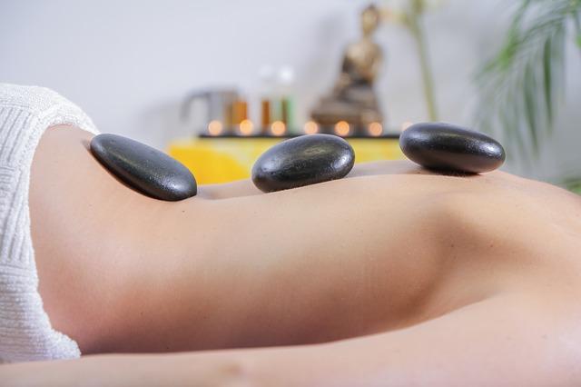 masážní kameny