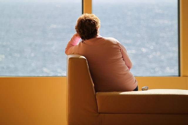 osamělá žena
