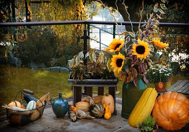 výzdoba na podzim