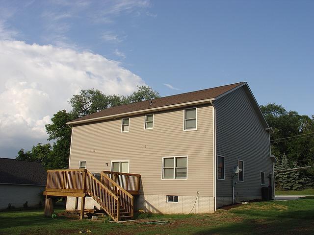 jednoduchý americký dům